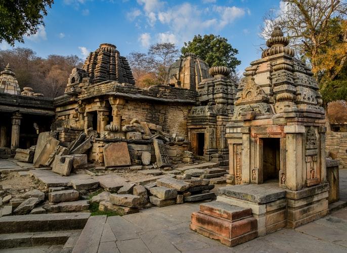 Ancient Ruins in Gwalior