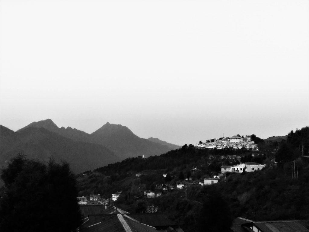 Beautiful landscapes of Tawang