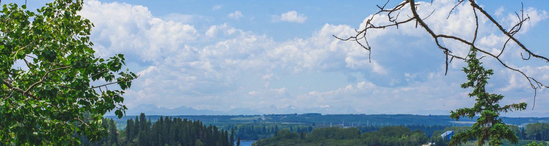 A lake in Calgary