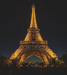 A stunning click of Eiffel Tower