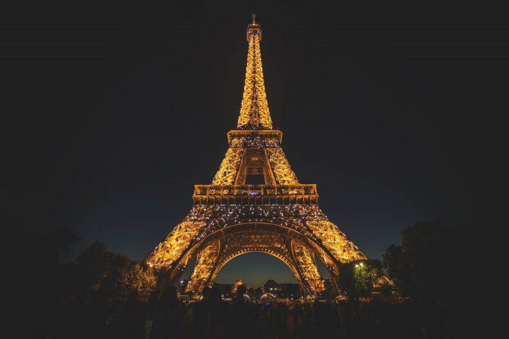 A stunning click of Eiffel Tower