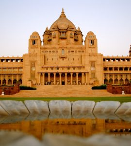 umaid bhawan front view