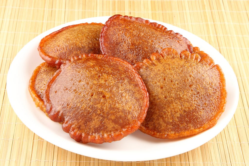 Neyyappam on a plate