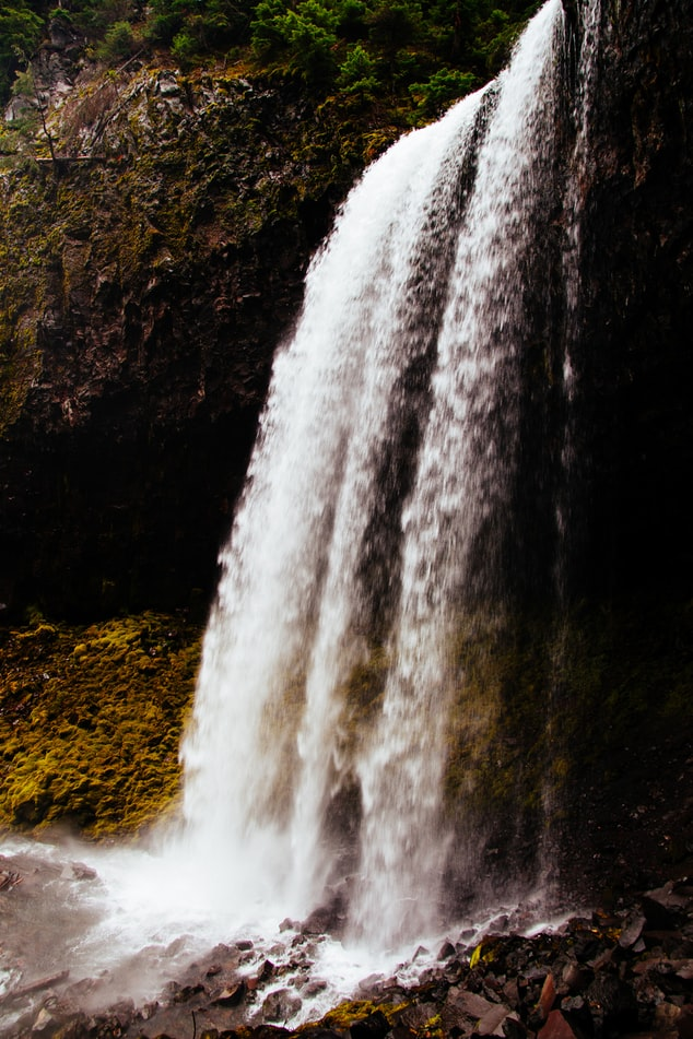 Waterfalls attractions in West Virginia