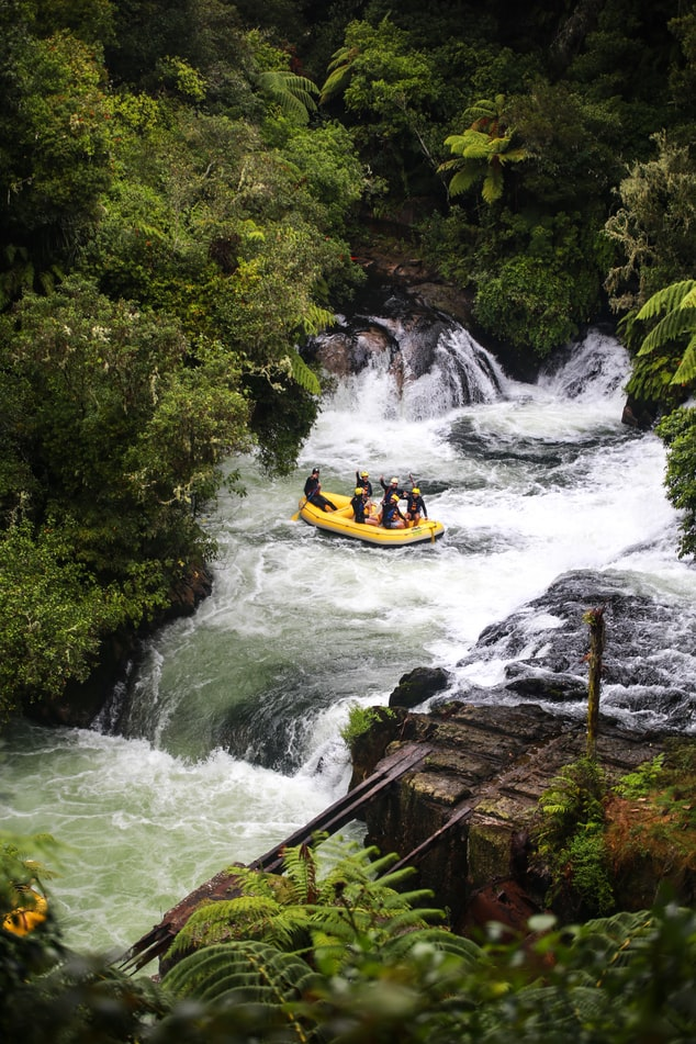 thrilling whitewater rafting