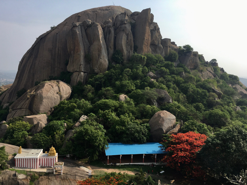 Madhuragiri Betta, Karnataka.