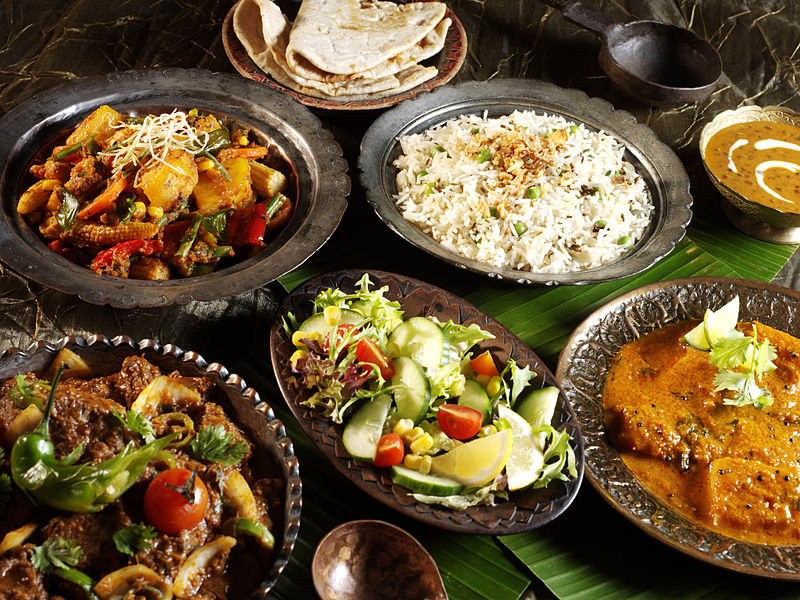 Indian cuisine in the best indian restaurant in the Maldives