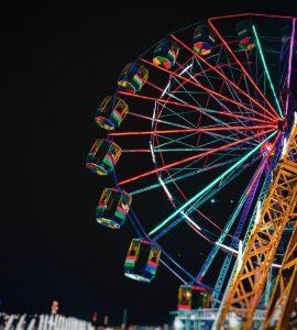 Amusement park in Delhi