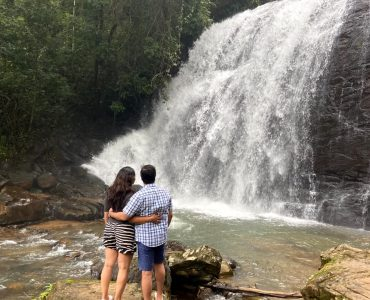waterfalls visit during our staycation to Ayatana