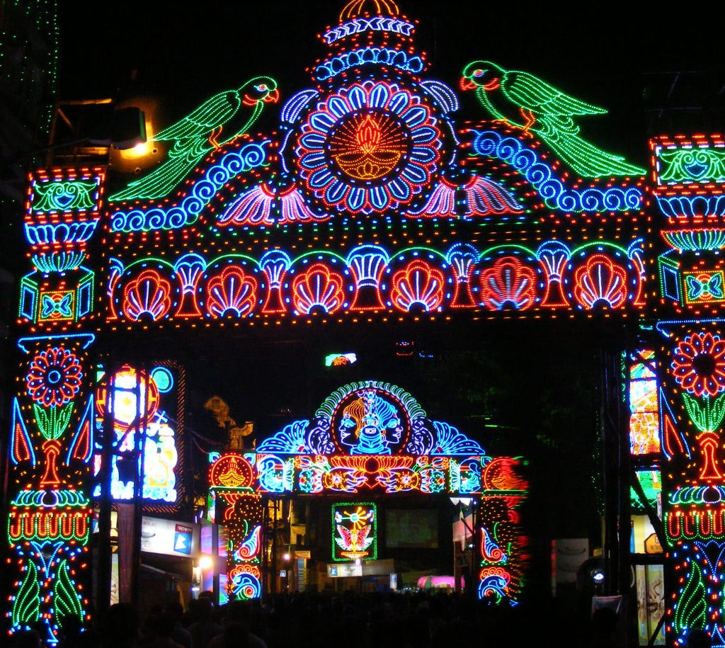 Dussera festival at Kota.