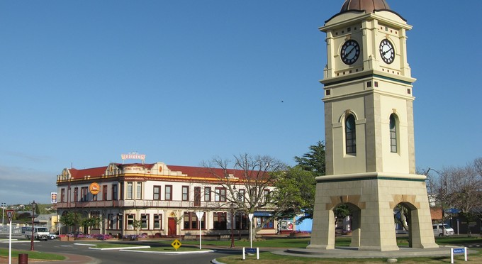 Fielding most beautiful town in New Zealand