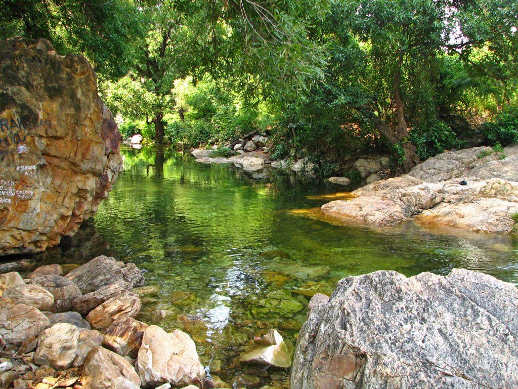 Ubbalamadugu Falls, Tada.