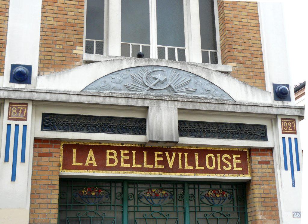La Bellevilloise Nightclub in Paris.