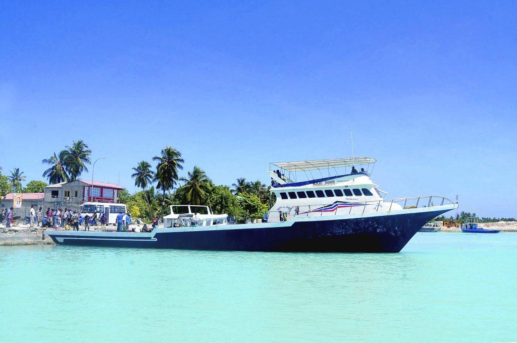 Maldivian fishing Dhoni