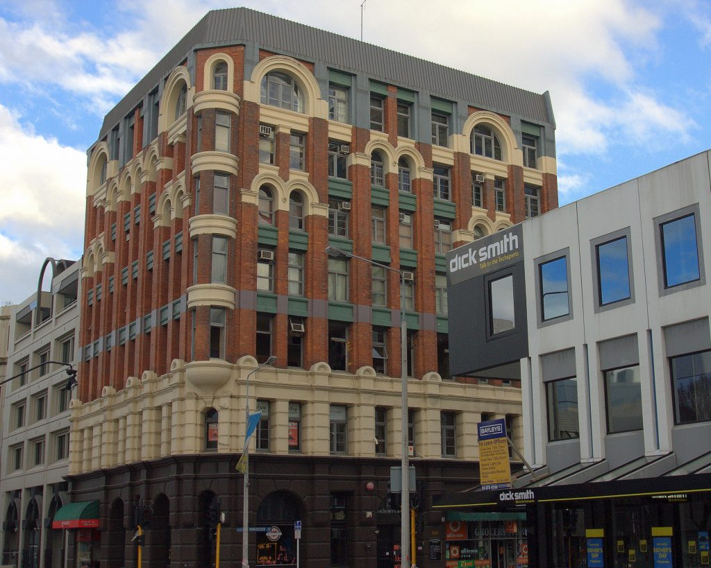 Christchurch CBD, Newzealand
