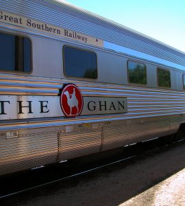The Ghan Train Tour