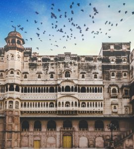 A stunning click of a fort in Bikaner