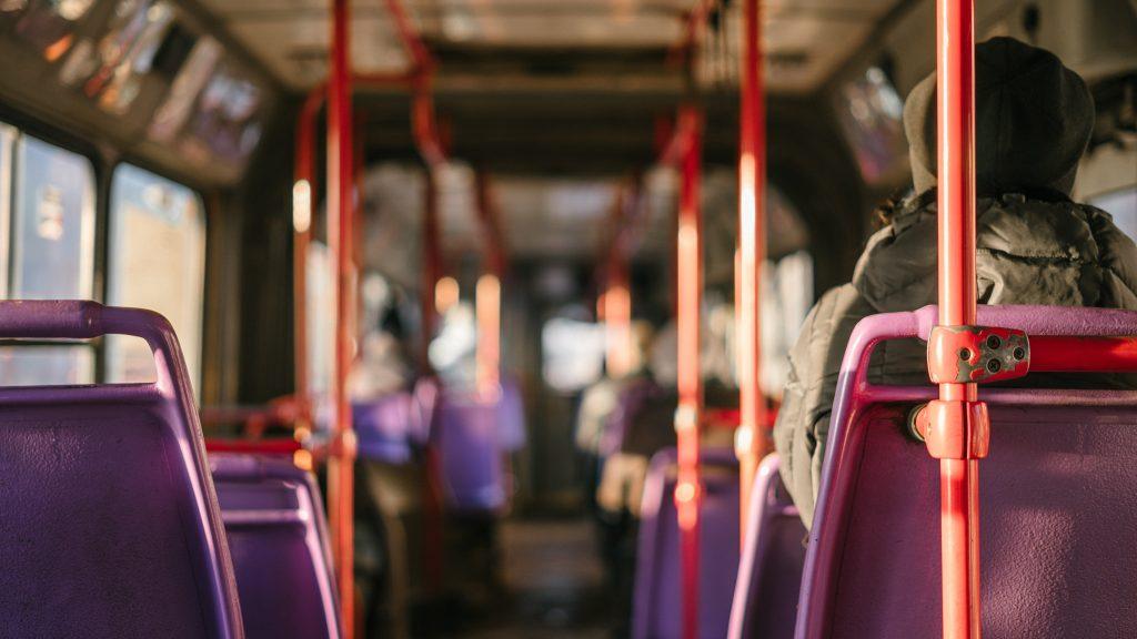 Bus transportation in Maldives