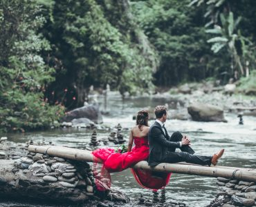 A lovely click of a couple in Bali