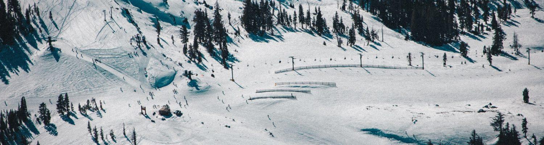 Ski Resort in USA