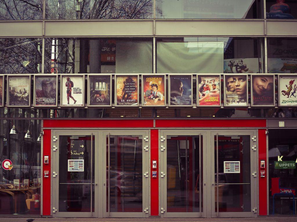 A cinema theatre.