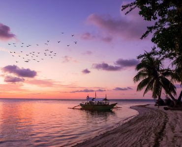 An evening in Philippines