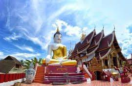 Buddha statues in Thailand