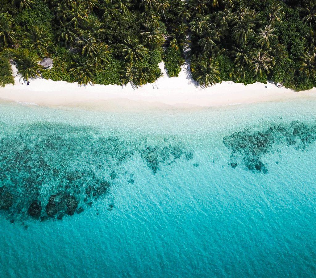 Dhigurah Beach, Maldives.