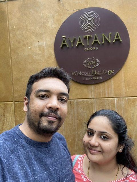 At the entrance of Ayatana
