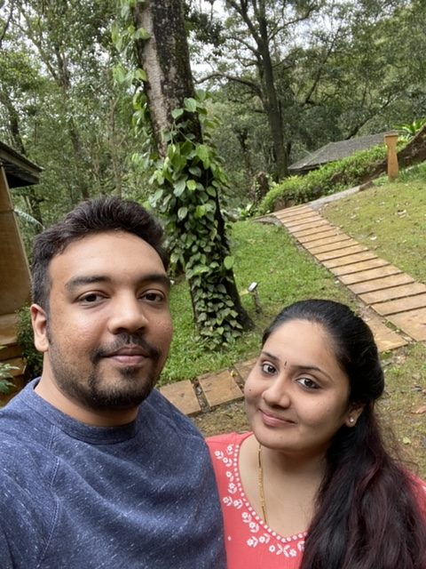 A click amidst lush greeneries during Coorg staycation