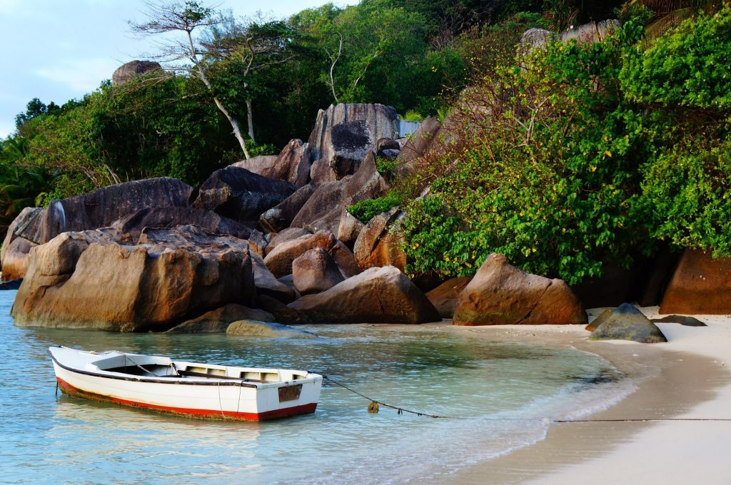 The Island of Mahe, Seychelles.