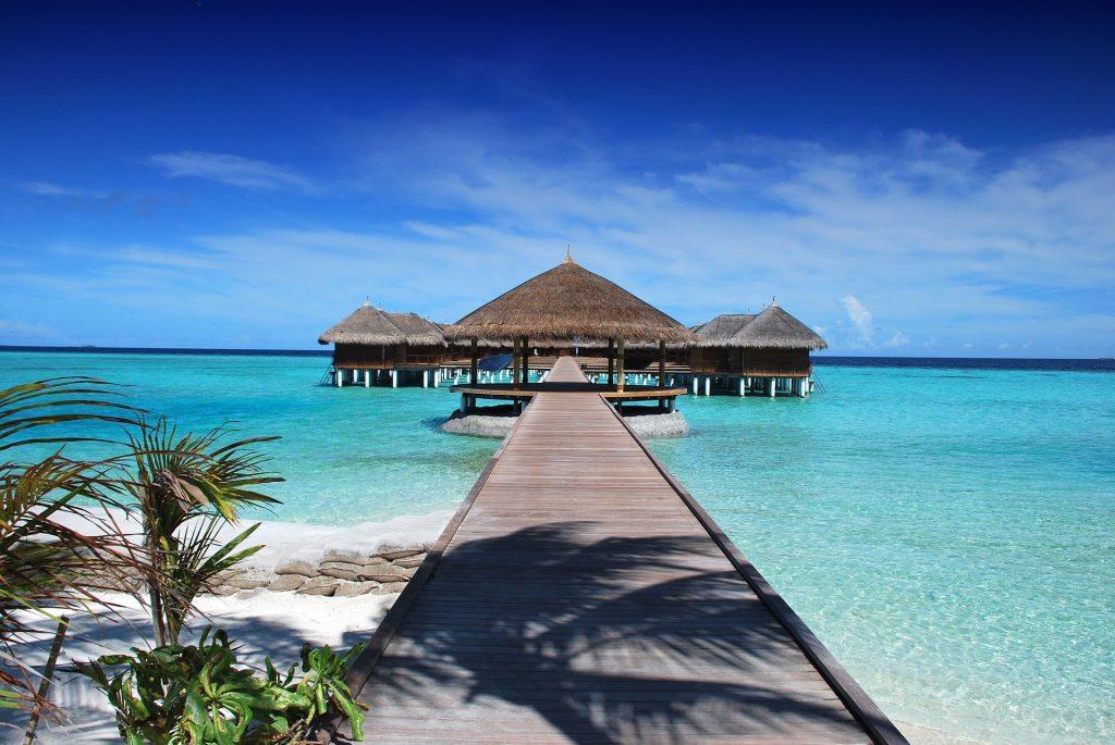 Bikini Beaches in the Maldives