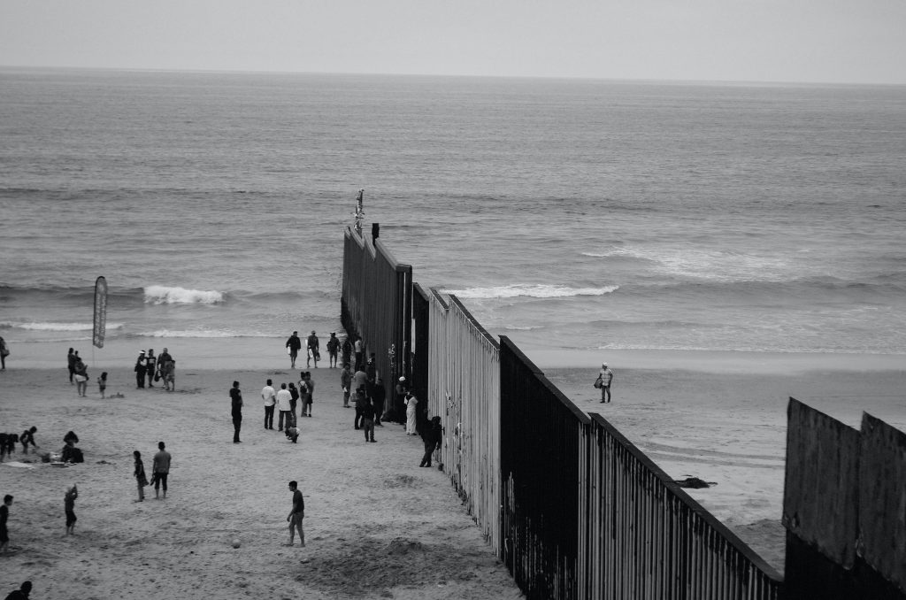 The border wall at Playas de Tijuana,