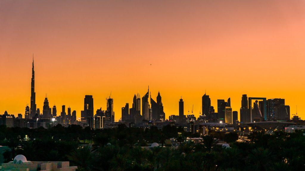 A click in Dubai