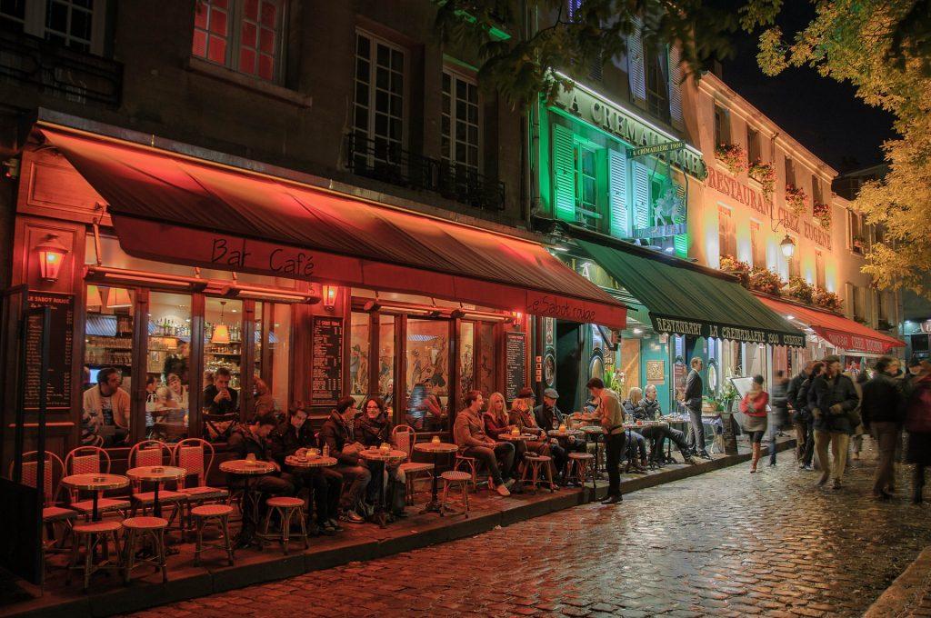 Montmartre Food street