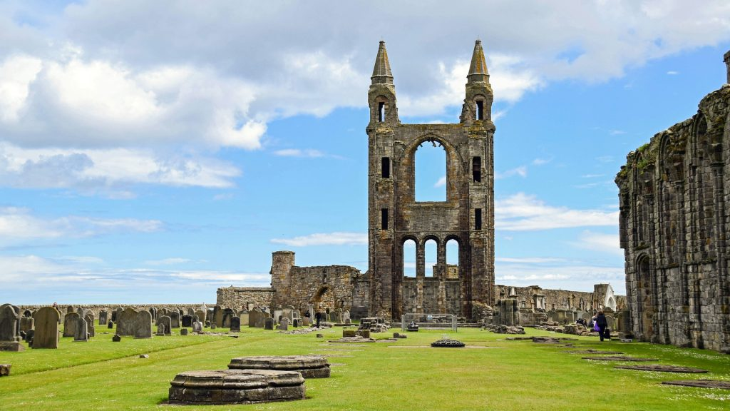 St. Andrews Cathedral, Scotland