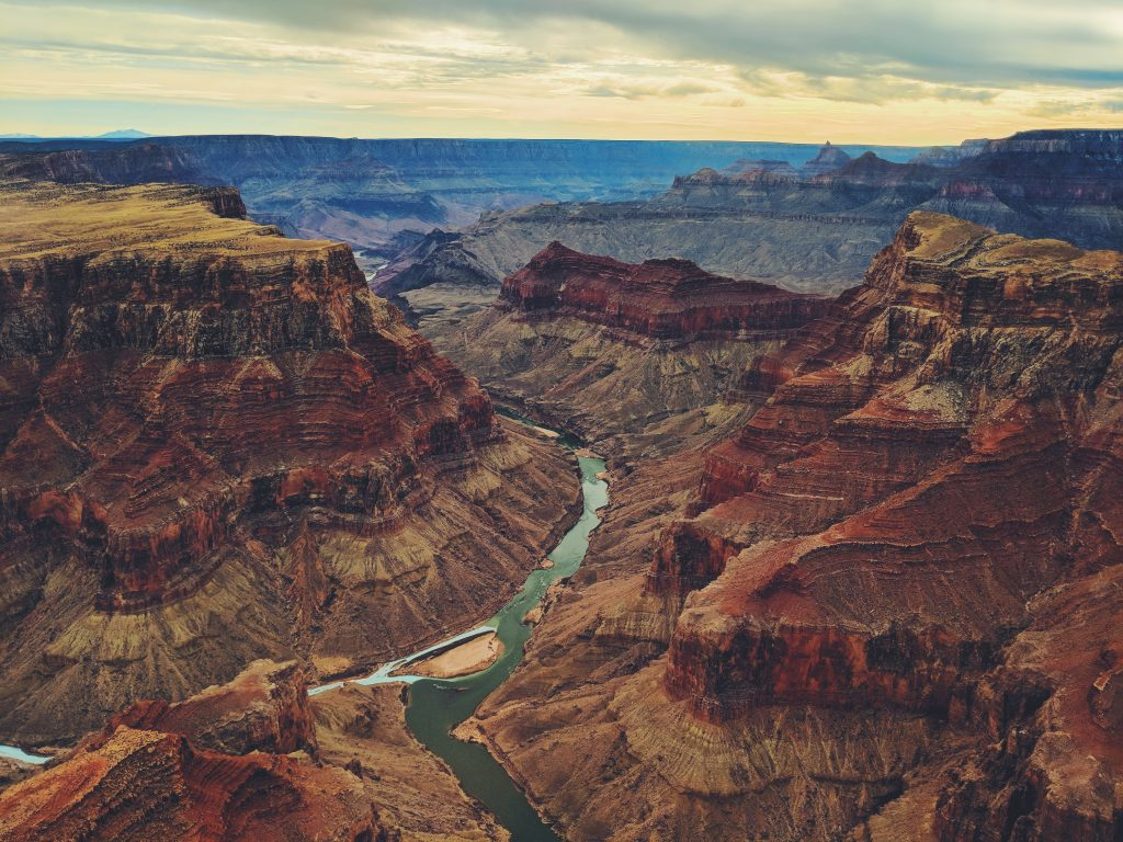 The overview of Grand Canyon.