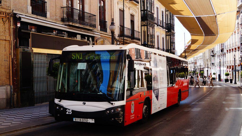 Public Transport in Spain.