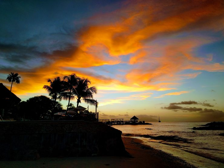 Best places to view the sunsets in Seychelles.
