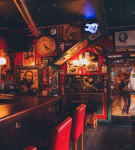 An Irish pub