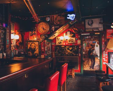 An Irish pub