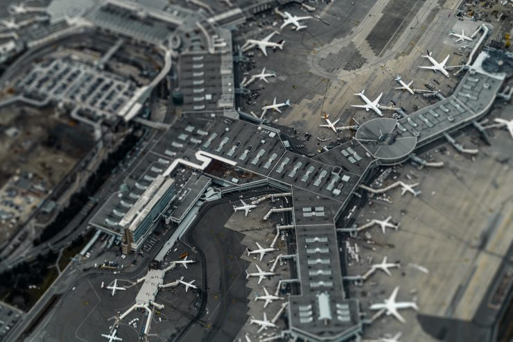 Vancouver International Airport in Canada