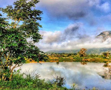 A stunning click of Nandi Hills