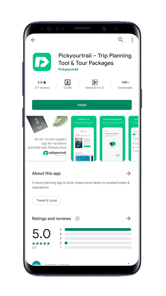 Installing PYT app