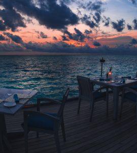 Restaurant in Maldives