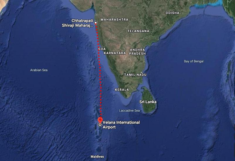 How to Reach Maldives from Mumbai