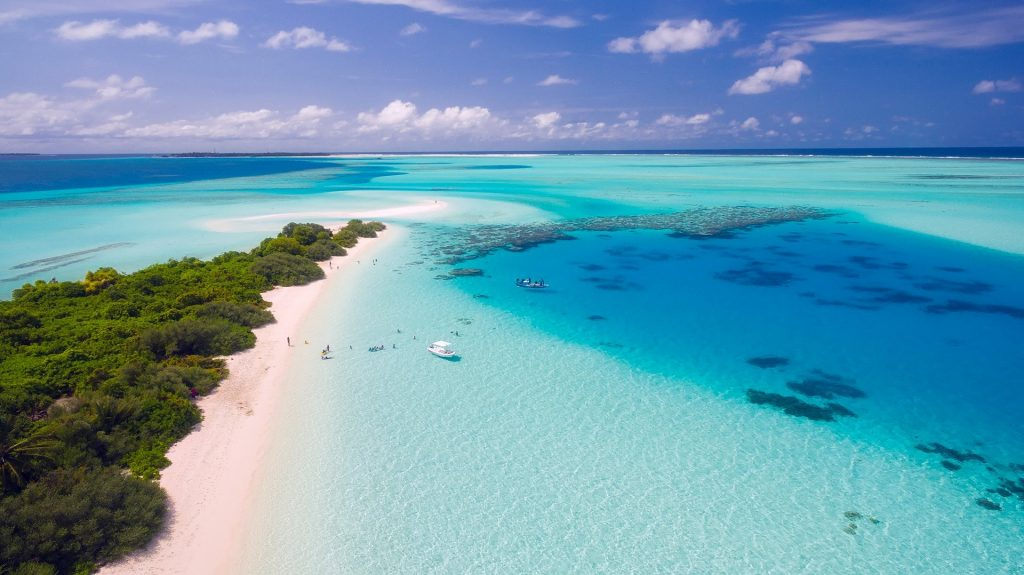 The beautiful Maldives Island