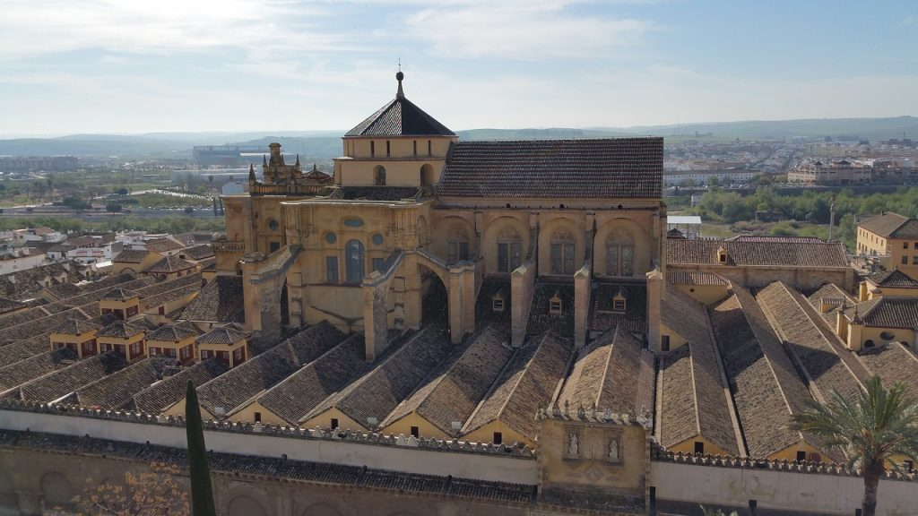 Historic centre of Córdoba, one of the UNESCO sites to visit in Spain