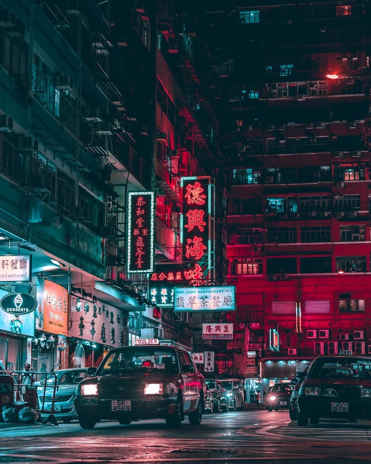 Hong Kong, China – The Dark Knight