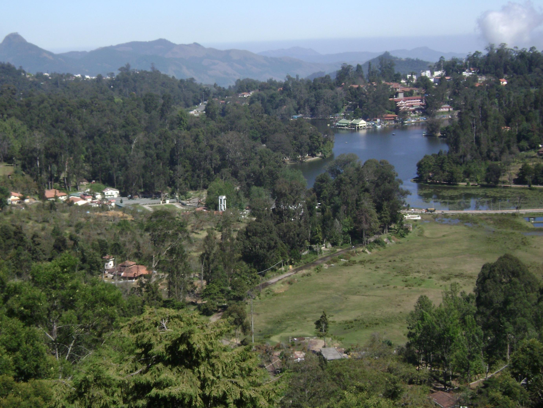 View of Kodaikanal Lake